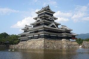 Matsumoto Castle - Image: Matsumoto Castle 05s 5s 4592