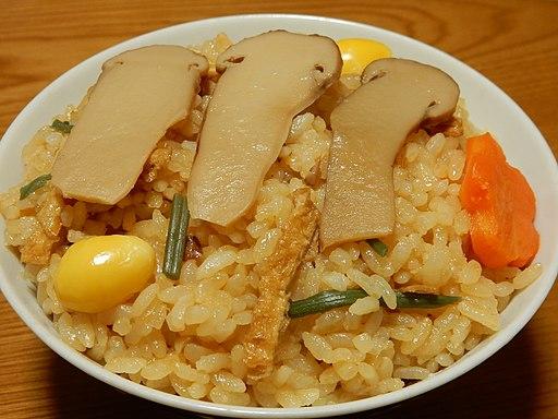 Matsutake gohan (2016-11-29) 02