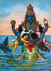 Matsya Raja Ravi Varma Press