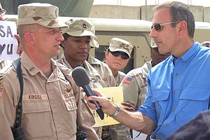 Matt Lauer interviews Chief Warrant Officer Ra...