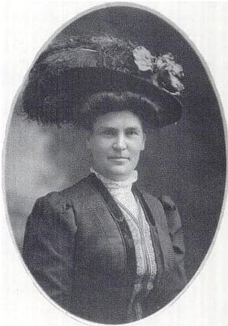 Maud Gage Baum - Photograph of Maud Gage in 1880