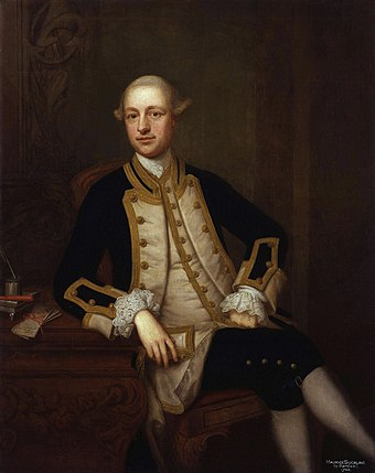 Captain Maurice Suckling Maurice Suckling by Thomas Bardwell.jpg