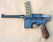 Mauser C96 M1916 Red 4