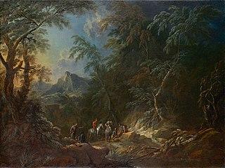 Waldlandschaft \
