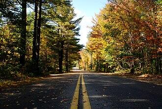 New Gloucester, Maine - Image: Mayallrd