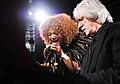 Measha Brueggergosman, Bill King at Music & Movies CFC Gala & Auction Fundraiser 2014.jpg