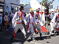Mechanical Morris Dancers at Yarmouth Old Gaffers Festival 2011 6.JPG
