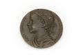 Medalj av brons med romerska kejsare Antoninus Pius - Skoklosters slott - 92229.tif