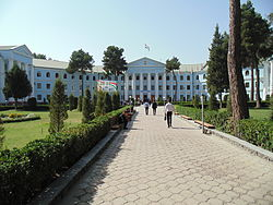 Medical university of a name of Avicenna in Dushanbe.JPG