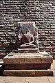 Meditating Buddha - West Gateway - Stupa 1 - Sanchi Hill 2013-02-21 4345.JPG