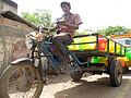 Meen Body Vandi fish bed vehicle Jugaad tricycle trike conversion three wheeler Rajdoot TVS Tamilnadu India - மீன் பூடி வண்டி Etan Doronne www.myindiaexperience.com Wikipedia.jpg