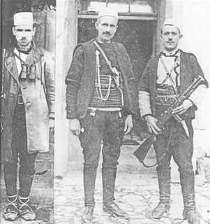 Albanian freedom fighter