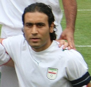Mehdi Mahdavikia - Mahdavikia in August 2006