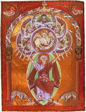 Gospels of Otto III - Image: Meister der Reichenauer Schule 003