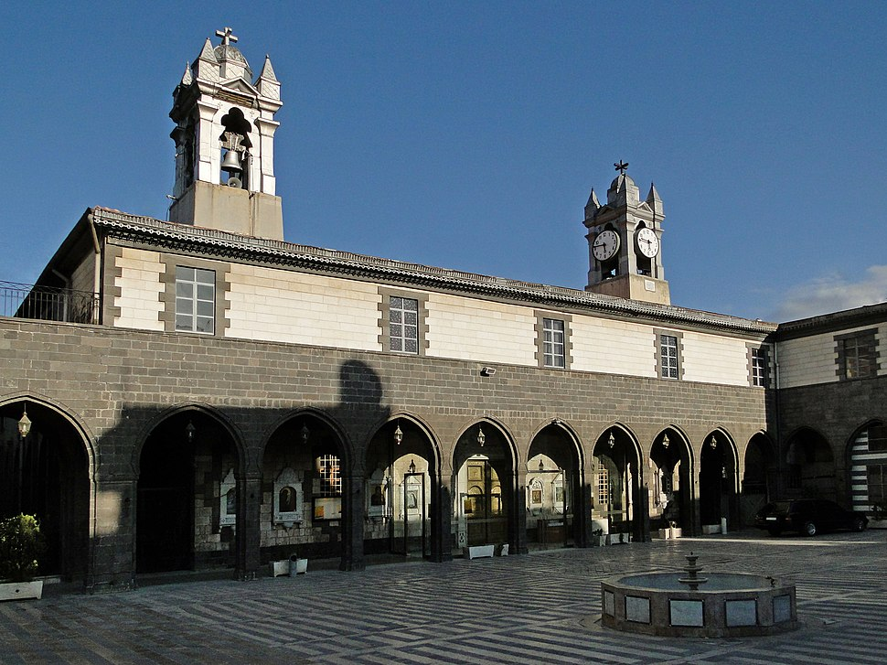 Melkite Greek Catholic Church, Damascus 01