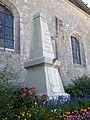 Melleray, Sarthe,, Fr, monument,.JPG