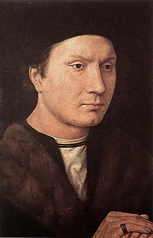Folco Portinari - Assumed portrait of Folco Portinari by Hans Memling.