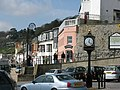 Memorial Clock and Marine Parade Lyme Regis - geograph.org.uk - 750051.jpg
