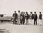"Men on beach with ""Anzac"" car (4986015508).jpg"