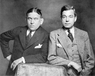The American Mercury - H. L. Mencken and George Jean Nathan in 1928