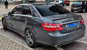 Mercedes-Benz E-Class (W212) - Pre-facelift E 63 AMG sedan (Europe)