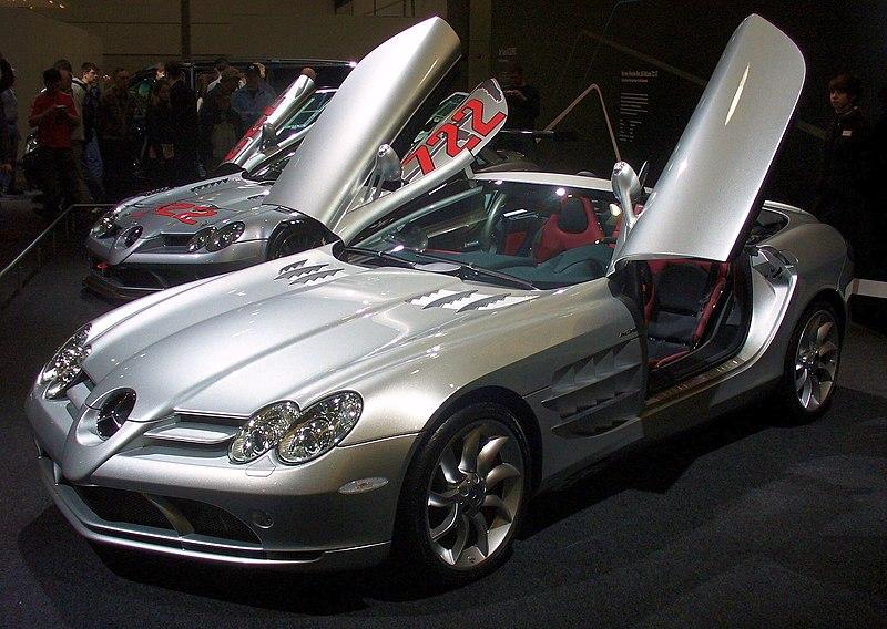 File:Mercedes-Benz SLR McLaren Roadster AMI.JPG