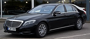 Mercedes-Benz S 500 (W 222) – Frontansicht, 6. April 2014, Neuss.jpg