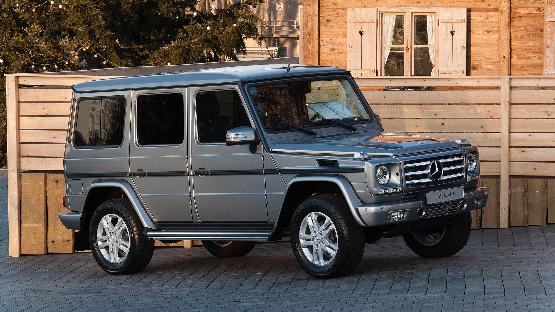 Mercedes Benz G Class Wikipedia