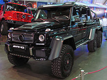 A 700 G63 6x6, A Tuned Version Of The G63 Made By Brabus.