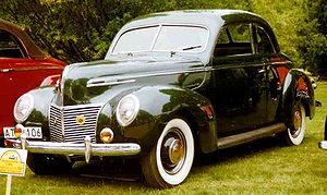 Mercury Eight - 1939 Mercury 8 Sedan Coupe