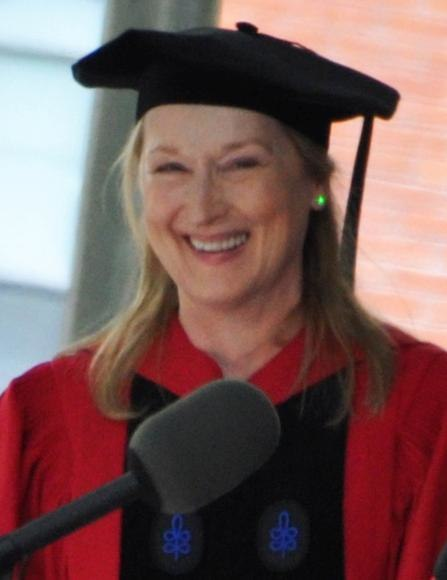 Meryl streep harvard commencement 2010 crop