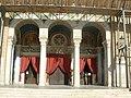 Metropolitan Cathedral of Athens Entrance - panoramio.jpg