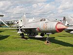 MiG-21 at Central Air Force Museum Monino pic1.JPG
