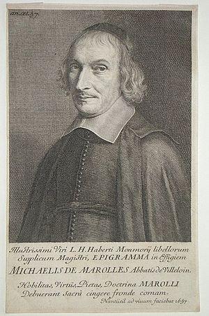 Michel de Marolles - Michel de Marolles