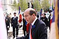 Michel Herbillon lors de la cérémonie du 8 mai 2010-004.JPG