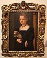 Michele di ridolfo (attr.), ritratto di bambina con cagnolino.JPG