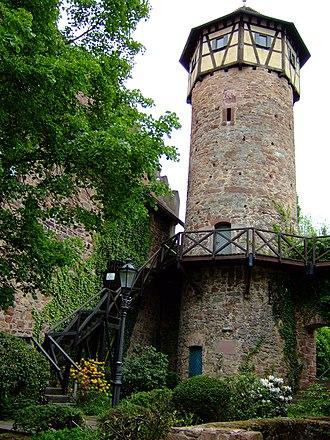 Michelstadt - Diebsturm at the town wall