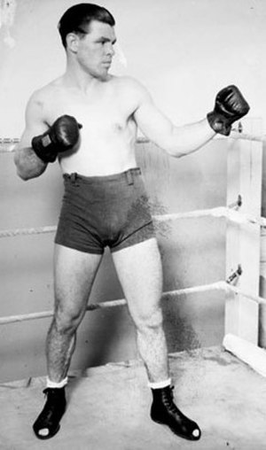 Mickey Walker (boxer) - Portrait of Walker