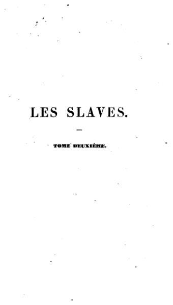 File:Mickiewicz - Les Slaves, tome 2.djvu