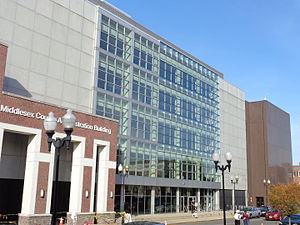 Civic Square, New Brunswick - County Administration Building and Court House