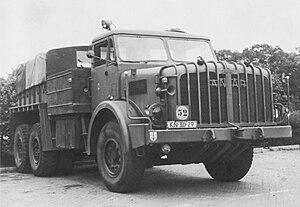 Thornycroft Antar - Mk1 Antar ballast tractor (Dutch Army)