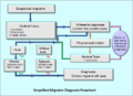 Migraine diagnosis flowchart-simplified example2.PNG
