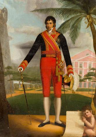 Miguel de la Torre - Portrait of de la Torre by Eliab Metcalf, 1826