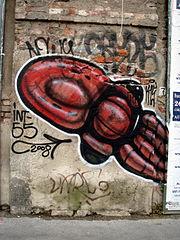 Milano - Graffiti lungo il naviglio pavese - Foto Giovanni Dall'Orto, 8-June-2008 5.jpg