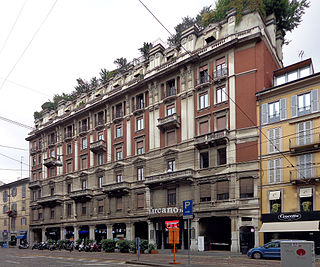 Teatro Carcano theatre in Milan, Italy