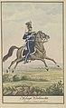 Milicya Krakowska - Zandarm w ubraniu paradnem 1840-1850 (115366082).jpg