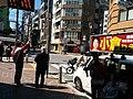 Minato-ku municipal council election candidate 小倉りえこ campaigning in Azabujuban.jpg