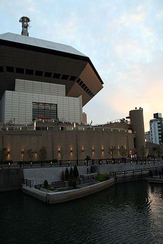 Naniwa-ku, Osaka - Minato-machi River Place