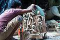 Miniature Durga Idol making in Kumortuli.jpg