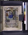 Miniature of Virgin and Child, opening of French text (NYPL b12455533-425929).tif